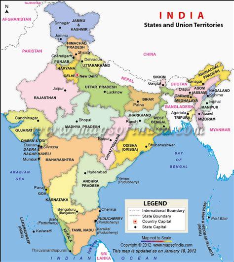 Carte Politique Du Monde Indien by India Political Map World India