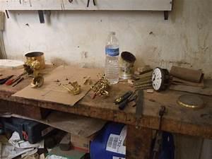 demontage photo de pendule bronze dore et marbre epoque With atelier de restauration de meubles