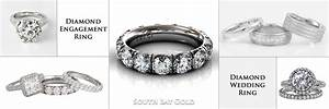 Selling gold and diamond rings wedding promise diamond for Selling engagement ring and wedding band