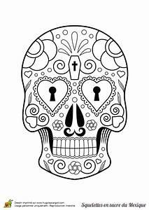Crane Mexicain Dessin : coloriage squelette sucre serrure coeurs sur ~ Melissatoandfro.com Idées de Décoration