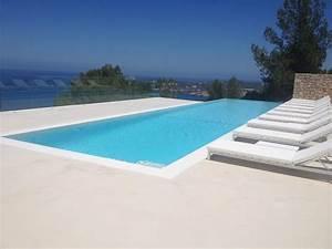 Beton Ciré Piscine : b ton cir terrasse piscine sol ext rieur b ton d coratif ext rieur ~ Melissatoandfro.com Idées de Décoration