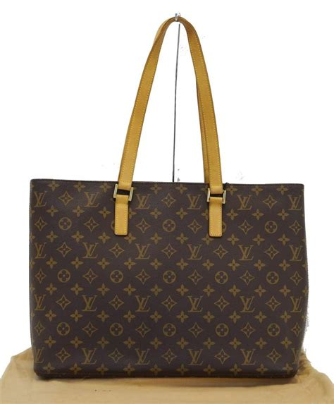 authentic louis vuitton monogram luco tote bag cc