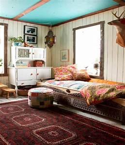 ideas de diseño de dormitorios bohemios decoracion de salas