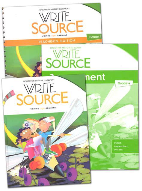 Write Source (2012 Edition) Grade 4 Set (051630) Details  Rainbow Resource Center, Inc