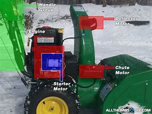 John Deere 1330se Snowblower  U2013 Wiring Harness For The