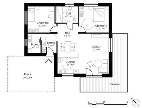 chambre maison de retraite plan maison pmr 80 m ooreka