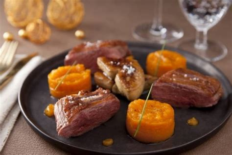 recette de magret de canard et foie gras poêlé variation