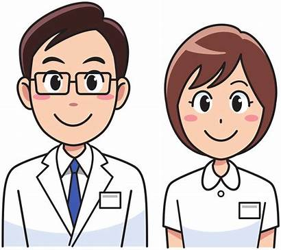 Nurse Doctor Clipart Clip Medicine Transparent Nursing