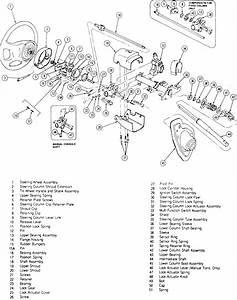 1978 Ford Thunderbird Steering Column