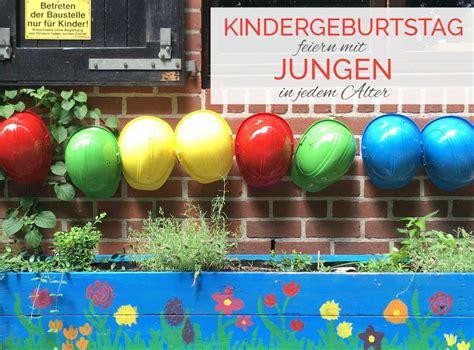 kindergeburtstag feiern mit jungen jeden alters einfach