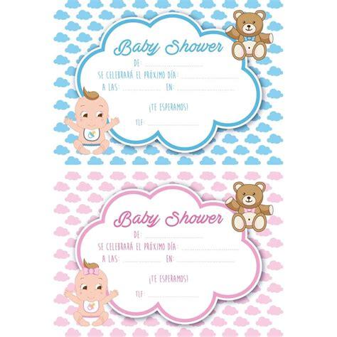 imagenes de baby shower nia invitaciones invitaci 243 n no se baby shower invitaciones y