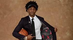 De'Aaron Sports Special Suit to Draft | Sacramento Kings