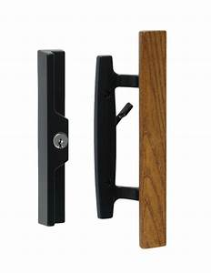 Lanai sliding glass patio door handle pull set for Patio door handle lock