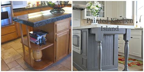 how to build a custom kitchen island painted kitchen island