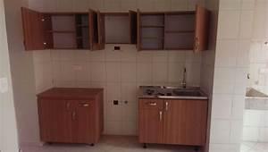 mueble, gabinete, aereo, de, cocina, 100x30