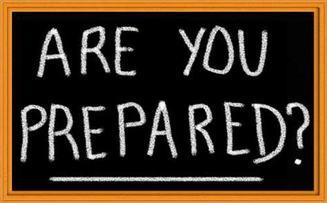 National Preparedness Month Is September!  Lpc Survival