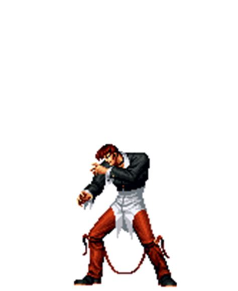 iori yagami  king  fighters gif animations
