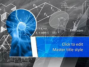 Download Office Themes 2013 Free Science Knowledge Powerpoint Template Free