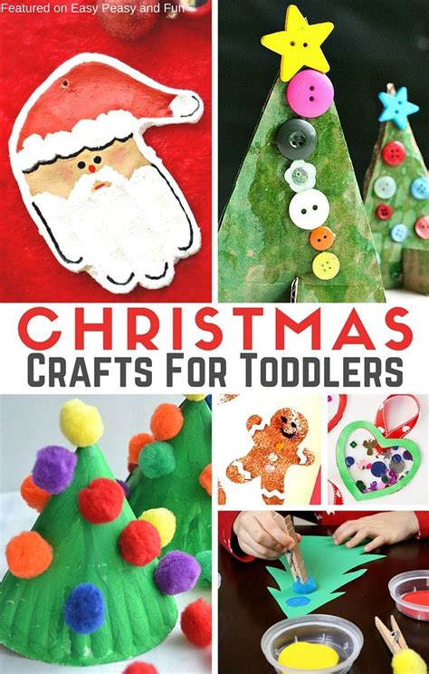 free easy christmas crafts for preschoolers homeminecraft