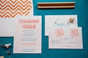 Rachel josh39s scrabble letterpress wedding invitations for Ruby blue wedding invitations