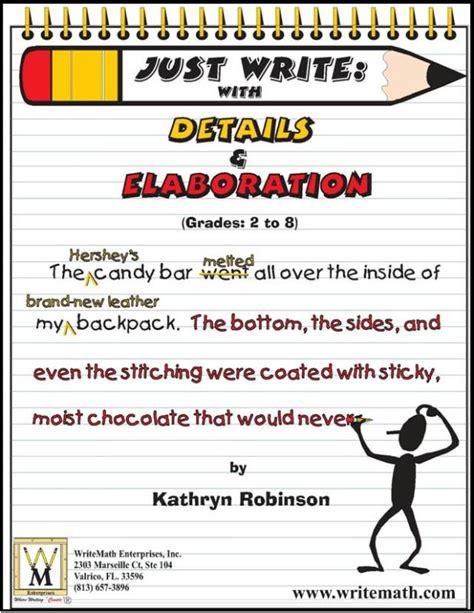descriptive writing activities 3rd 6th grade