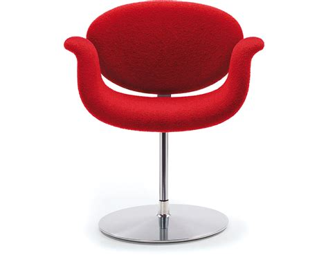 bar stools tulip chair with disc base hivemodern com