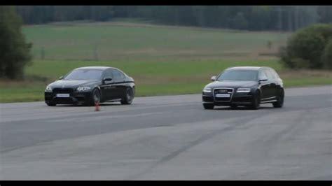 Bmw M5 Vs by Bmw M5 Vs Mtm Audi Rs6