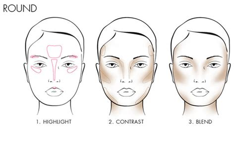 How To Contour Your Face Tips And Techniques For Each Face Shape Plusstyle Com