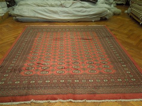 8x8 area rugs knotted bokhara 8x8 square rug kpsi 200 ebay