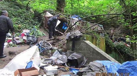 olympia seeks private company  clean  homeless camps