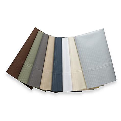 wamsutta sheets wamsutta 174 1000 sateen stripe sheet set bed bath beyond