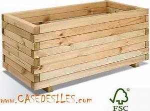 Jardinière Rectangulaire Pas Cher : jardiniere bois rectangulaire 100x50x43 143l ~ Preciouscoupons.com Idées de Décoration