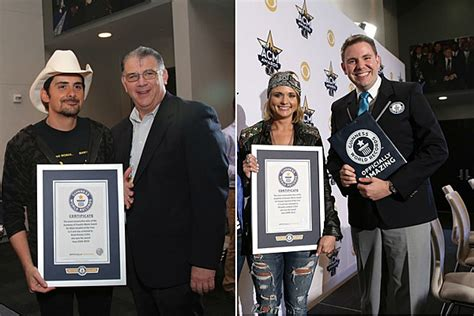 Brad Paisley Miranda Lambert Get Acm Guinness World Records