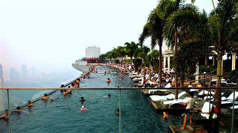 Marina Bay Sands Skypark Infinity Pool Singapore Youtube