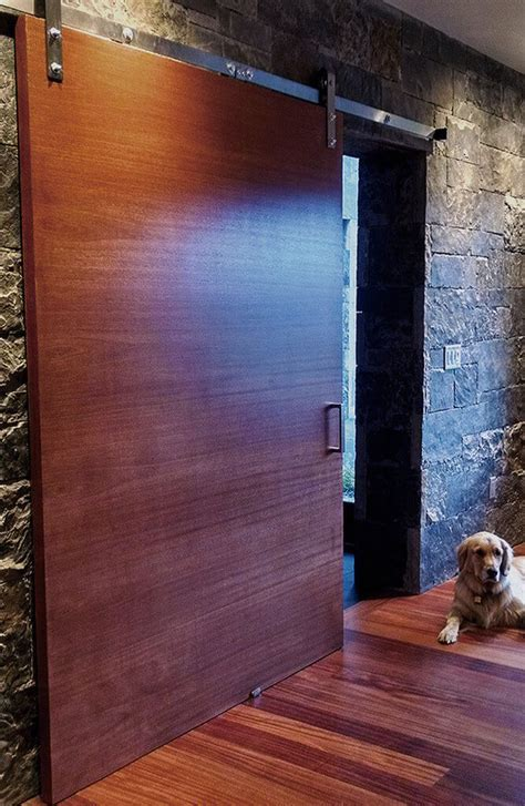 More Modern Barn Doors   Sun Mountain Door