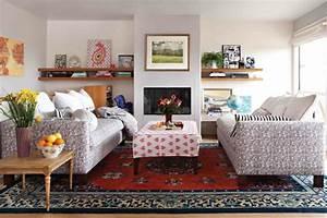 tapis salon tendance en 55 idees de formes tailles et With tapis oriental avec canape balancelle