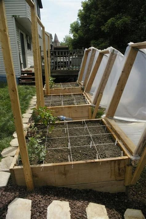 learn how to make a raised garden bed cover home design