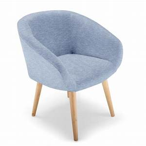 Chaise Bleu Scandinave : chaise fauteuil style scandinave frost bleu ~ Teatrodelosmanantiales.com Idées de Décoration
