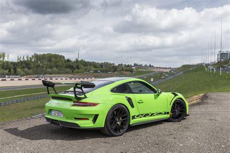 Porsche Gt3 Rs Green by 911 Gt3 Rs With Weissach Package Lizard Green Porsche
