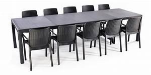 Salon De Jardin Keter : salon de jardin table sonata 3m20 10 fauteuils bali ~ Dailycaller-alerts.com Idées de Décoration