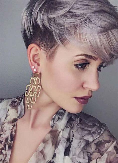coupes courtes originales pour femmes coiffure simple