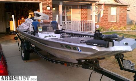 1998 Challenger Bass Boat by Armslist For Sale Trade 16 Grumman Challenger Bass Boat