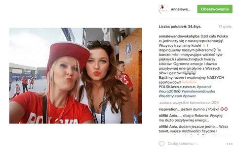 anna lewandowska euro 2016 anna lewandowska mecz polska niemcy euro 2016 jastrząb post