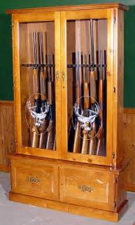 wood 12 gun cabinet plans pdf plans