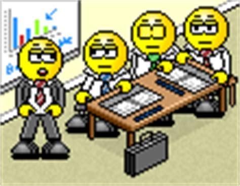 smiley au bureau smilchat smiley animé 3d