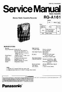 Panasonic Audio Service Manuals