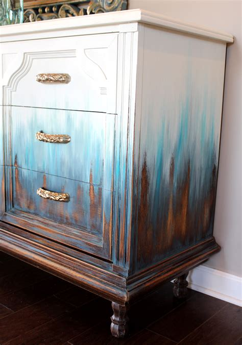 ombre balayage dresser general finishes  design