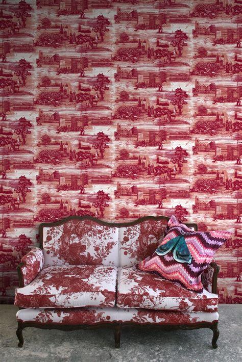 timorous beasties wallcoverings glasgow toile wallpaper