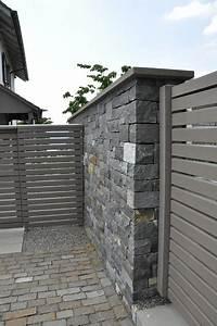 Sichtschutz Mauer Naturstein : natursteinmauer als sichtschutz garden garten ~ Michelbontemps.com Haus und Dekorationen