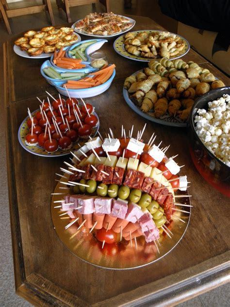 cuisine bonne qualité pas cher buffet froid une alternative pour des diners sympas